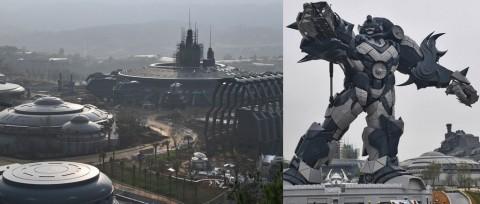 Taman Hiburan di Tiongkok Ini Sajikan Wahana VR