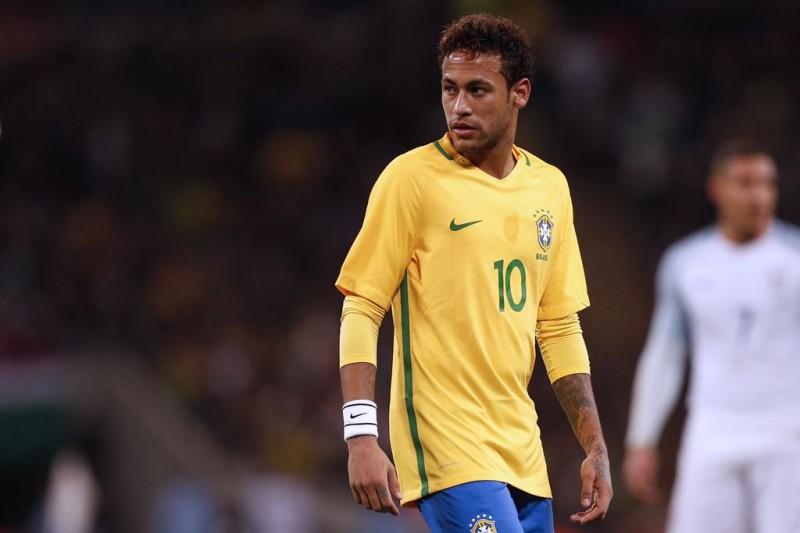 Neymar Da Silva. (Foto: AFP/Ian Kington)