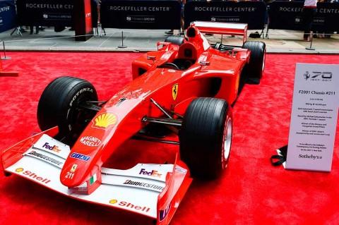 Mobil F1 Schumi Laku Rp101 Miliar