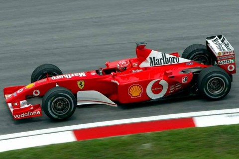 Mobil yang Antar Schumacher Juara F1 Laku Rp101,4 M