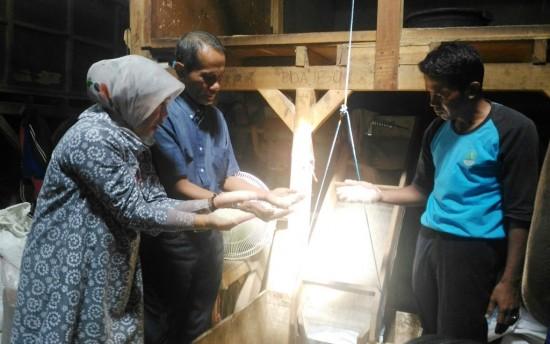 Kepala BKP Kementan Tinjau Gapoktan Mekar Jaya
