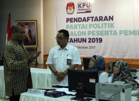 KPU Tunggu Pendaftaran Ulang PBB, PKPI Hendropriyono, dan Partai Idaman Hari Ini
