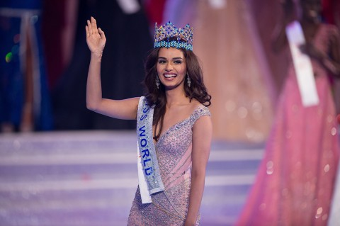 Manushi Chhillar, Miss World 2017 dari India