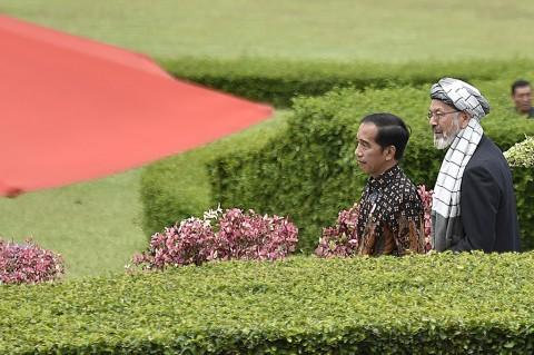 Jokowi: Indonesia Siap Bantu Afghanistan Wujudkan Perdamaian