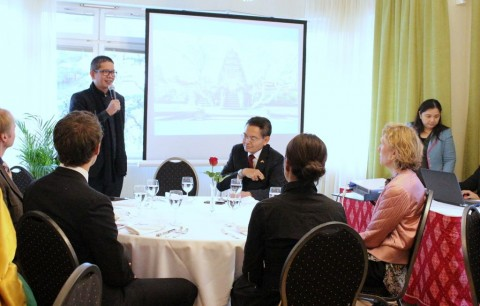Indonesia-Swedia Rajut Kerja Sama Ekonomi Kreatif