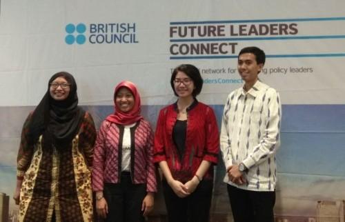 Empat pemuda Indonesia yang belajar kepemimpinan di Inggris