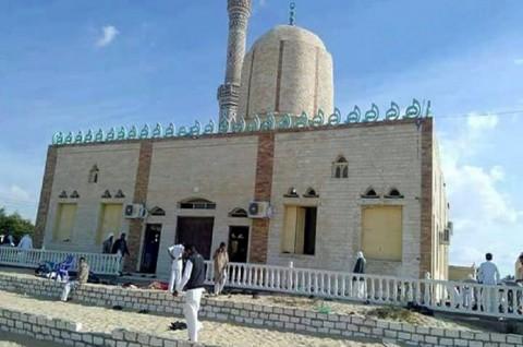 Korban Ledakan di Masjid Sinai Mesir Jadi 155 Orang