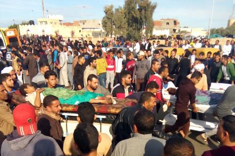 Korban Tewas Bom Masjid Sinai Meningkat jadi 235 Orang