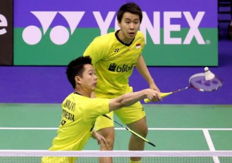 Kevin/Marcus Melangkah ke Final Hong Kong Open