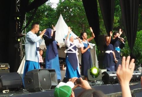 Warna Reuni dengan Nina Tamam dan Dea Mirella di The 90's Festival