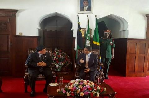Dubes RI Bahas Hubungan Bilateral dengan Presiden Zanzibar