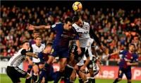 Gol Messi Dianulir, Valencia Tahan Imbang Barcelona