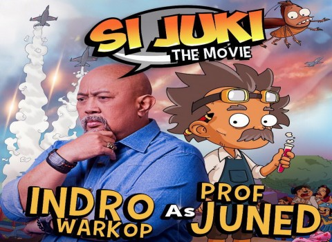 Indro Warkop Antusias Pertama Kali Isi Suara Film Animasi