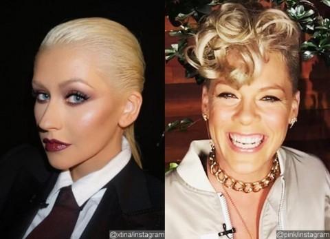 Pink Tegaskan Perseteruannya dengan Christina Aguilera telah Berakhir