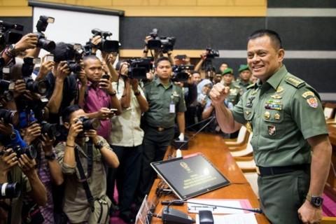 Jenderal Gatot Mutasi 85 Pati TNI