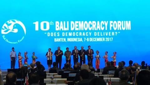 Bali Democracy Forum ke-10 Menjawab Pertanyaan Efektivitas Demokrasi