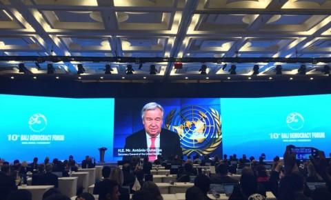 Sekjen PBB Nilai Forum BDF Penting untuk Menghadapi Konflik
