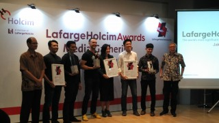 Tiga Proyek dari Indonesia Sabet LafargeHolcim Awards 2017