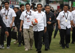 Pesan Jokowi di Gelaran Piala Presiden 2018