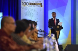 Jokowi Pastikan Tahun Politik Tak Berdampak Buruk bagi Ekonomi