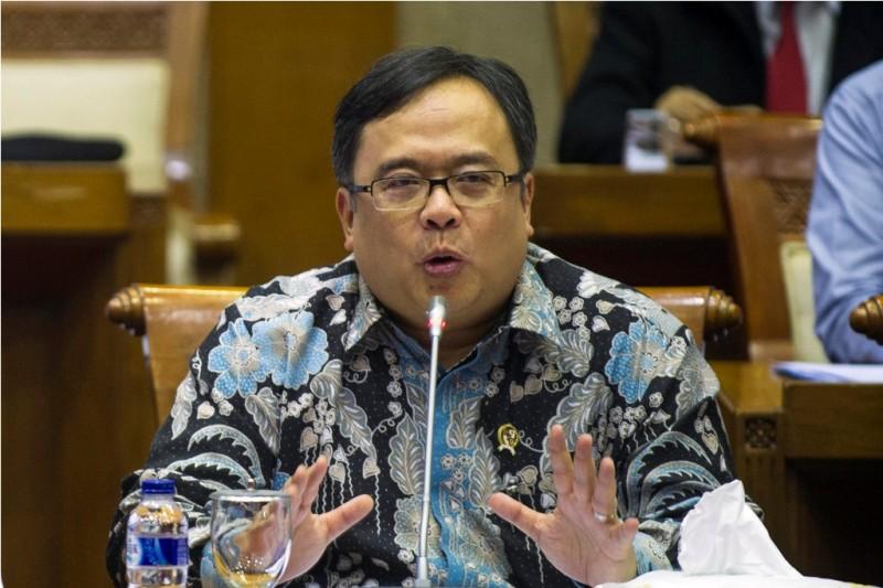 Menteri PPN/Kepala Bappenas Bambang Brodjonegoro (ANTARA FOTO/Sigid Kurniawan)