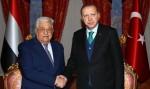 Jelang KTT Luar Biasa OKI, Presiden Turki dan Palestina Bertemu