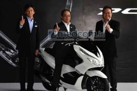 All New Honda PCX 150, Siap Lawan New Nmax
