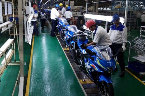 Penjualan Motor Tiap Merek, Kompak Turun di November