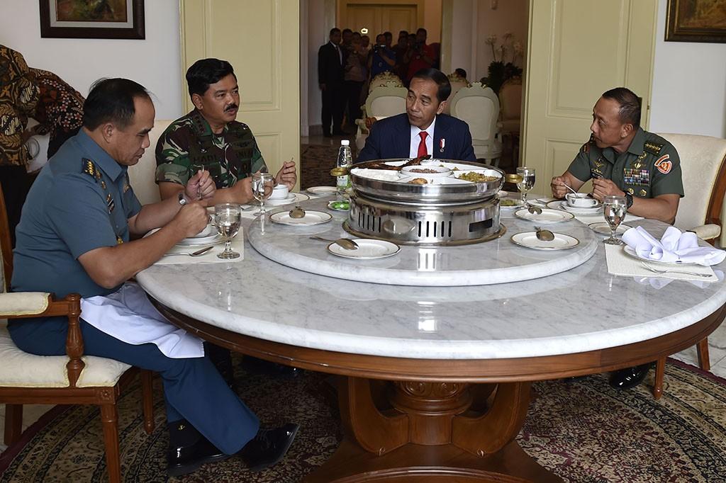 Panglima TNI Bertemu Jokowi Bahas Kesejahteraan Prajurit