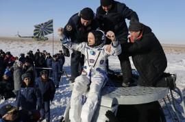 5 Bulan di Luar Angkasa, 3 Astronot Kembali ke Bumi