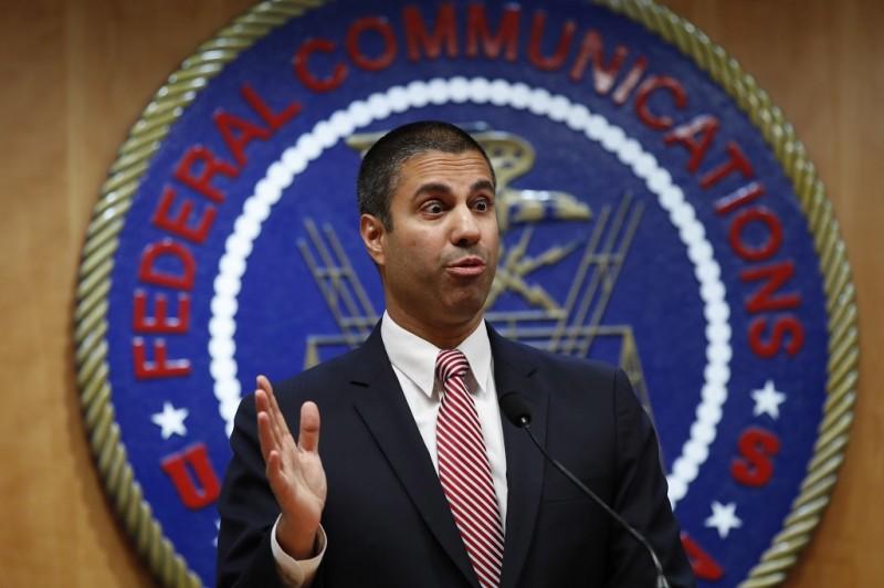 Chairman FCC, Ajit Pai. (AP Photo / Jacquelyn Martin)