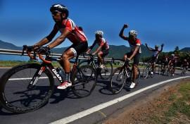 Timnas Balap Sepeda Asah Kemampuan di Ajang Tour de Indonesia