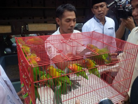 Warga Binaan Rutan Sumenep Dilatih Beternak Burung