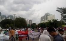 Acara Segera Dimulai, Massa Penolak Datangi Lokasi DWP 2017