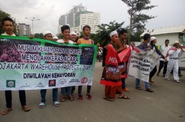 Polisi: Jumlah Peserta Demo Menolak DWP Tahun Ini Lebih Sedikit
