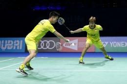 Bungkam Wakil Tiongkok, Marcus/Kevin Lolos ke Semifinal