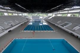 Perenang Andalan Indonesia Keluhkan Karpet di Stadion Akuatik