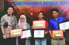 Metrotvnews.com Raih Penghargaan dari Bank Mayora