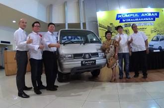 Suzuki Kumpul Bareng Wirausahawan Carry Pick-up di Surabaya