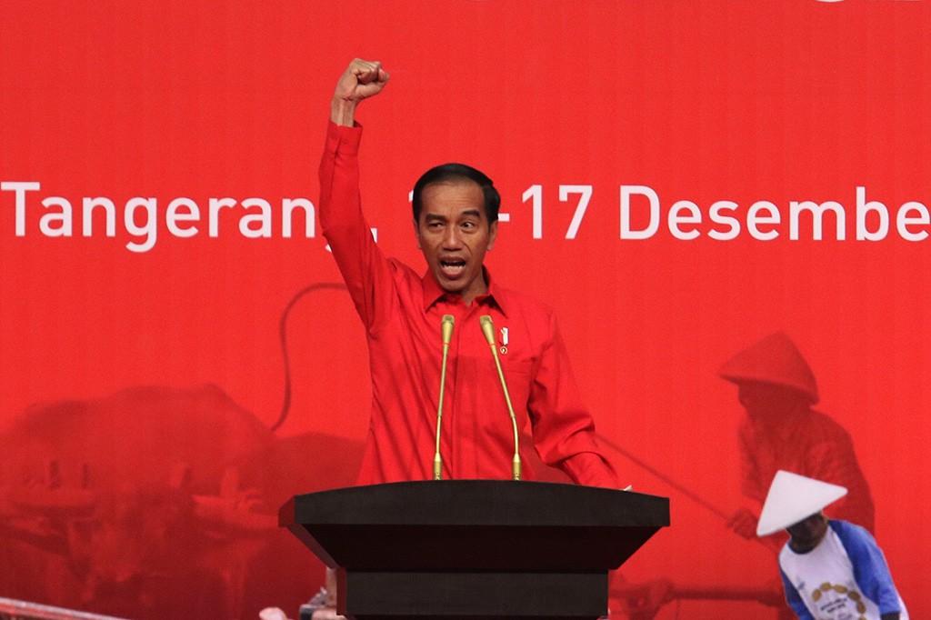 Hadiri Rakornas 3 Pilar PDIP, Jokowi Teringat Soekarno