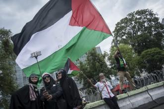 Rekayasa Lalu Lintas pada Aksi Bela Palestina