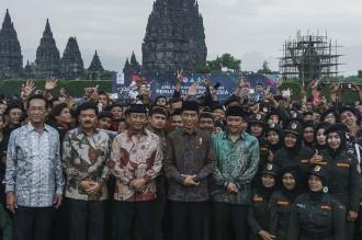 Jokowi Minta Banser dan Kokam Rawat Kebhinekaan