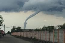 Angin Puting Beliung Landa Wilayah Magetan