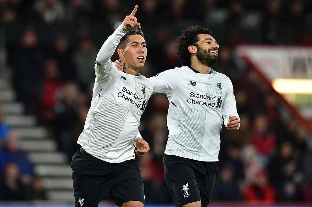Liverpool Gilas Bournemouth 4 Gol Tanpa Balas