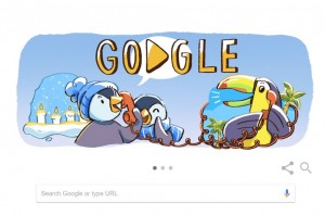 Google Mulai Sebarkan Semangat Liburan via Doodle