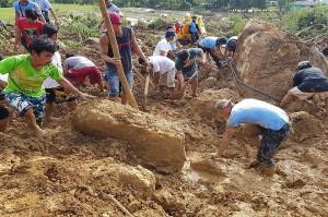 Tanah Longsor akibat Badai Kai-Tak Tewaskan 26 Orang