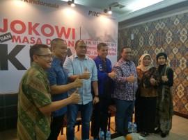 Survei PolMark: Elektabilitas Jokowi 50,2 Persen