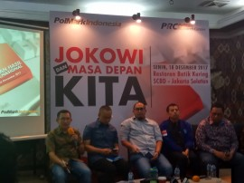 Survei: Jokowi Masih Dipilih karena Merakyat