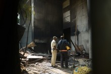 Kebakaran Sebuah Toko di Mumbai Tewaskan 12 Orang