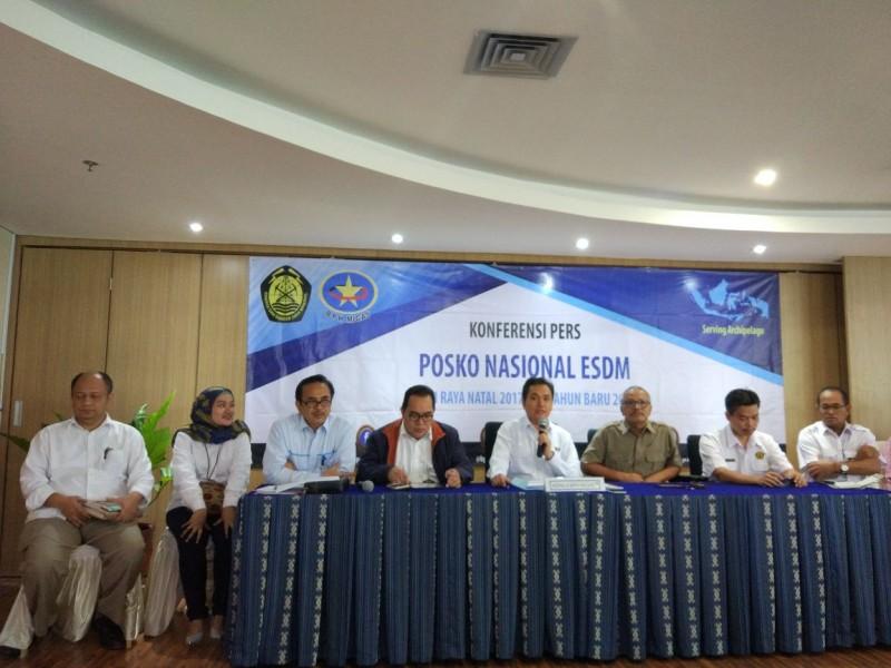 Kepala BPH Migas Fanshurullah Asa (tengah). Medcom/Annisa Ayu.